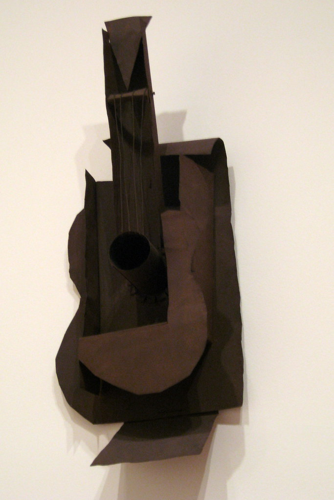 Nyc Moma Pablo Picasso S Guitar Guitar Paris After