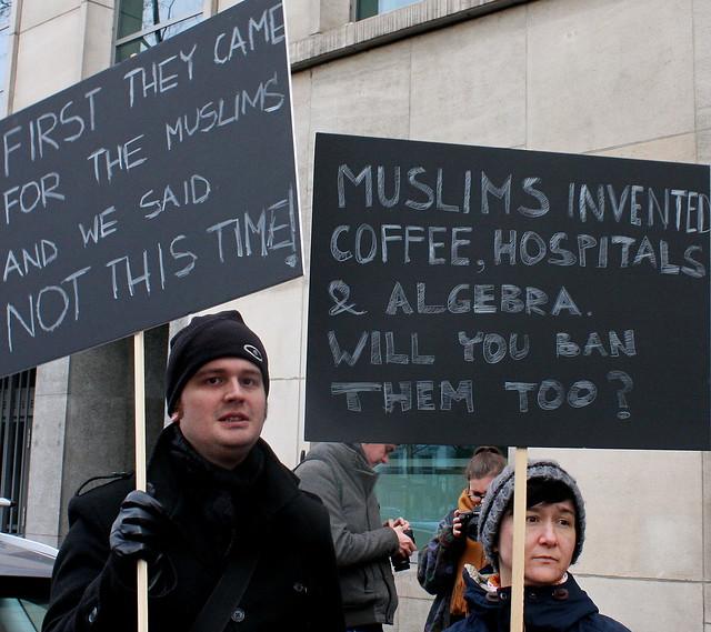 Actie tegen Trump // Liesbeth