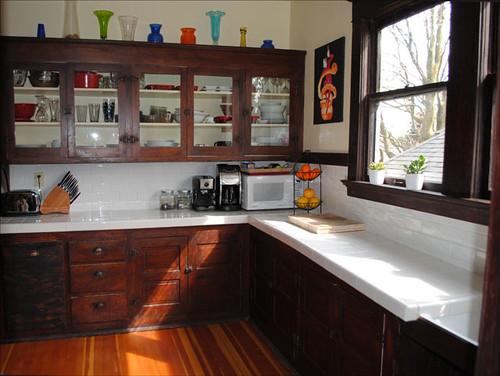 1912 Craftsman Kitchen This Kitchen In N Portland Is In A Flickr