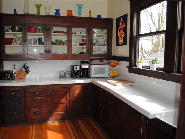 1912 Craftsman Kitchen This Kitchen In N Portland Is In