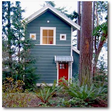 Cottage Blue With Red Door Anitajuneparker Flickr
