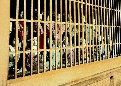 Caged Prostitutes The Lowest Order Of The Japanese Brot
