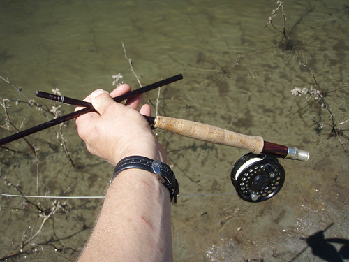 Broken sage fly rod the fish was so huge that it snapped for Sage fly fish
