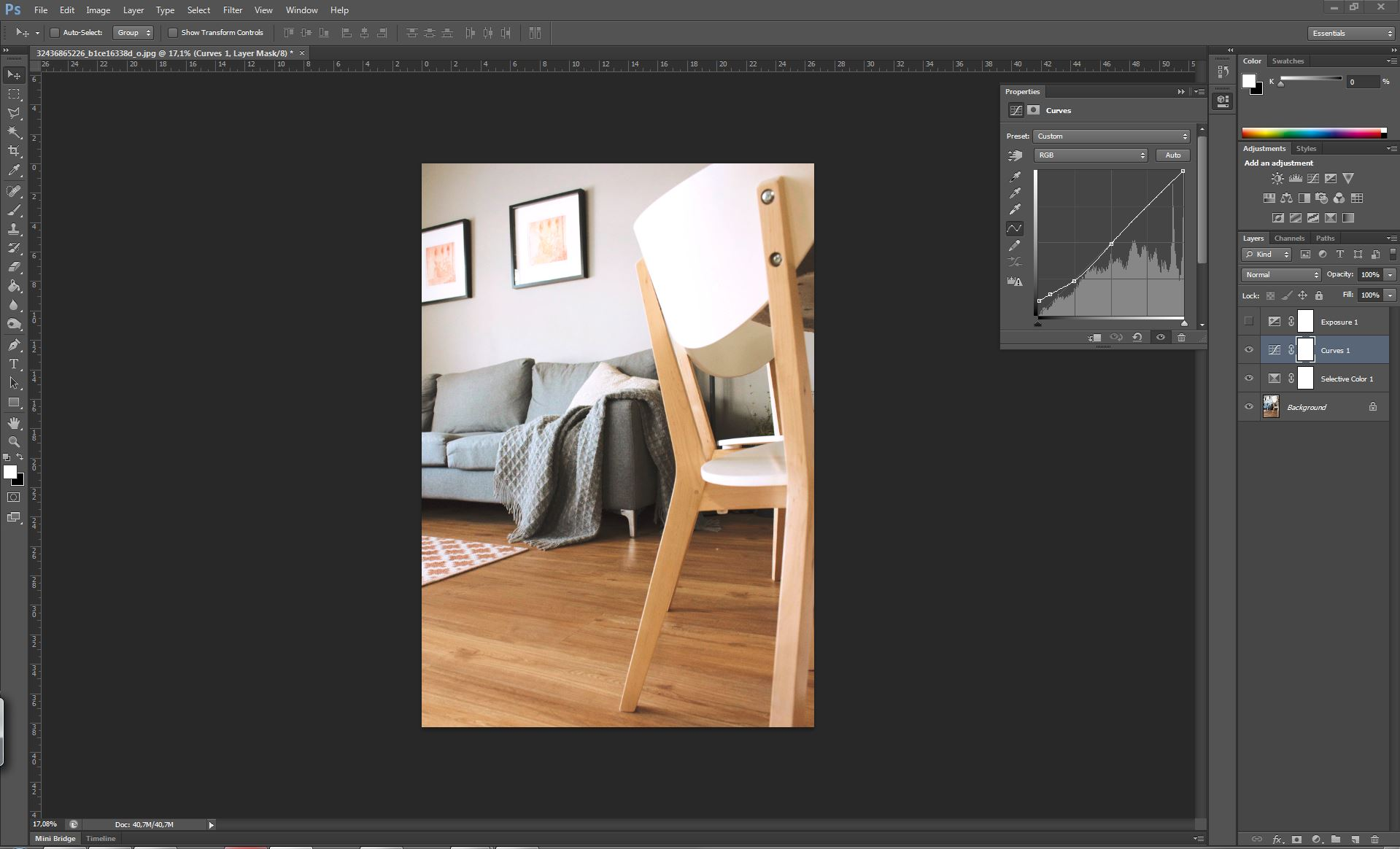 filter look tutorial photoshop curves