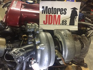 Sr20det 1jz turbo MAF z32 sard injectors 555 full swap | by MotoresJDM.es