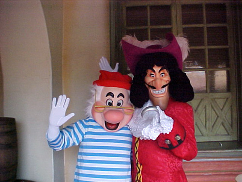 mr smee and captain hook pirates of the caribbean magic flickr