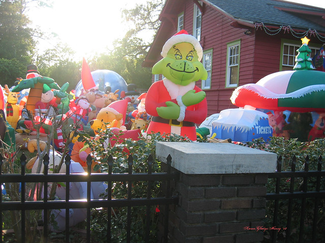 The Grinch Who Stole The Inflatable Christmas If Your