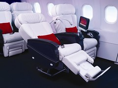 Virgin America First Class Seat | by Binder.donedat