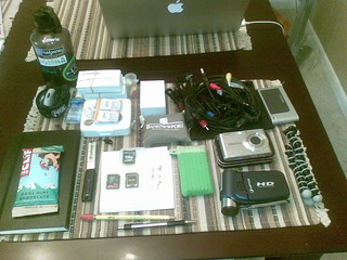 NAB2008 Bag Contents | by joepitkin