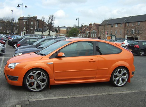 orange ford focus st carl spencer flickr. Black Bedroom Furniture Sets. Home Design Ideas