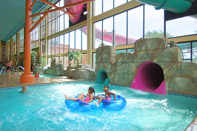Mayan Adventure Indoor Waterpark At The Waverton Hotel Du