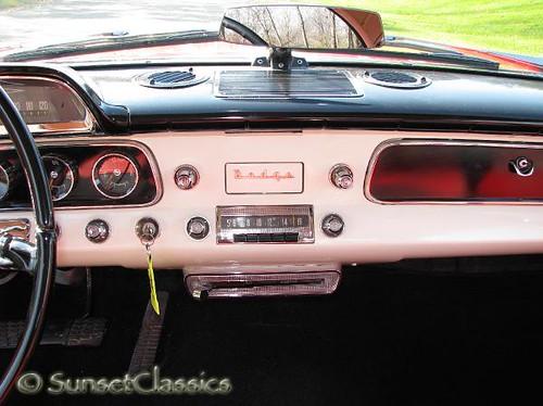 1957 Dodge Coronet Lancer Dash | Dashboard close-up of a rea… | Flickr