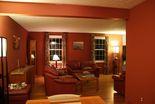 Painted Living Room Accent Furniture Ideas