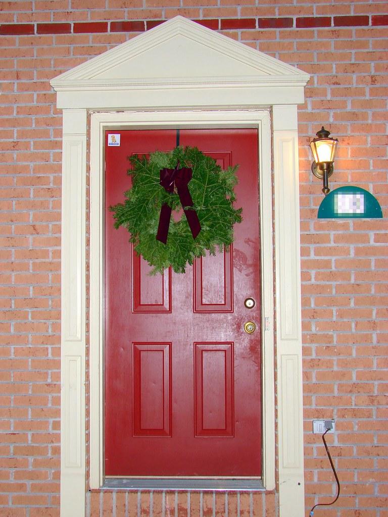 Christmas Door Decorations For A School Room Door