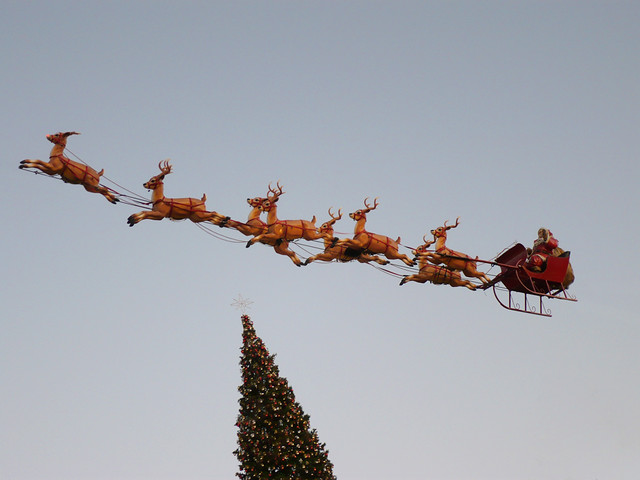 Real santa claus sightings
