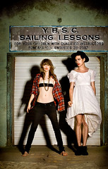 sailing lessons with Ladyhawke and Kirin | by cybele malinowski