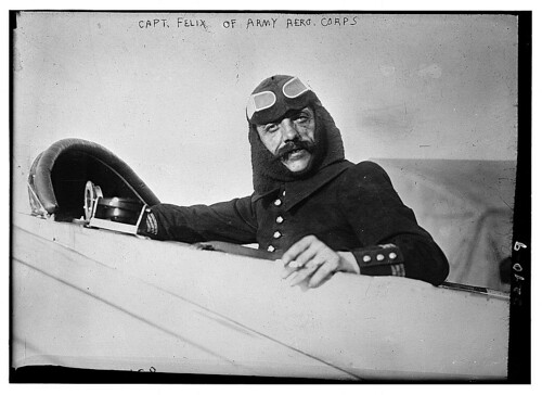 Capt. Felix of Army Aero. Corps.  (LOC) | by The Library of Congress