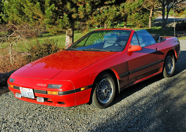 1988 Mazda RX-7 Convertible | This is my second red rotary ...