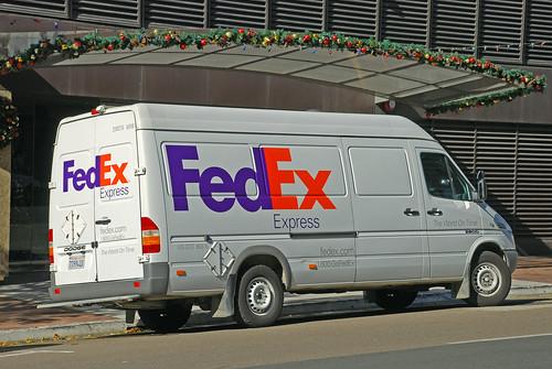 Fedex Sprinter Fedex Dodge Sprinter Downtown San Diego