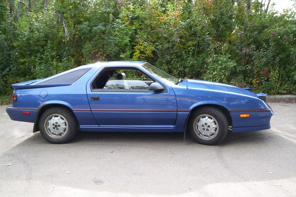 1988 Dodge Daytona Shelby Z | Daytona Blue | blondy | Flickr
