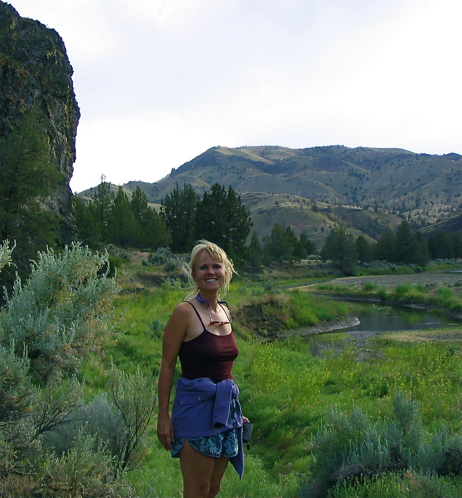 sherri john day river oregon margo s lovely friend sherr flickr  john day river oregon by ex magician