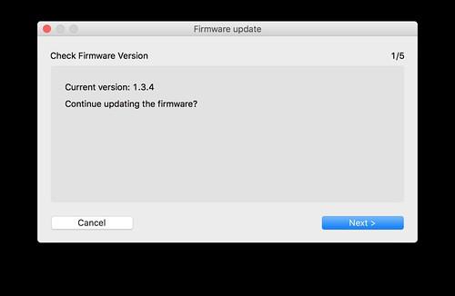 Firmware Update/Downdate?