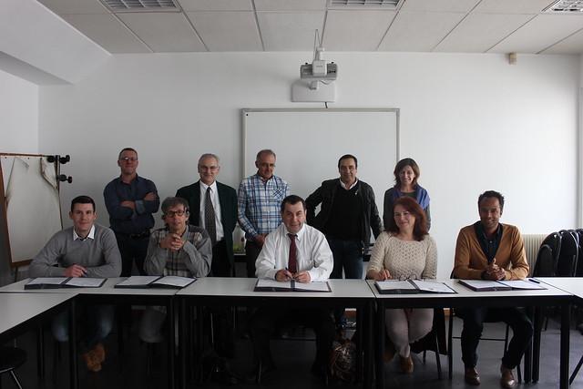 Signature de convention à la DSDEN du Rhône - Parcs en hauteur