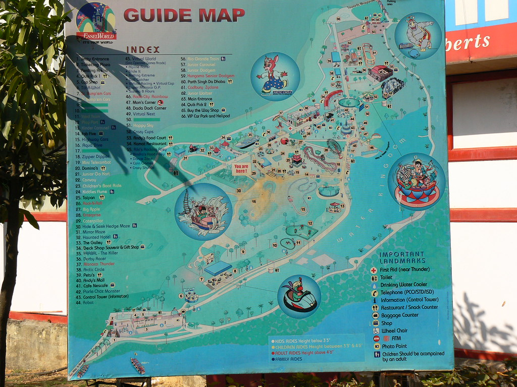 Guide map esselworld dinesh valke flickr guide map esselworld by dinesh valke gumiabroncs Choice Image