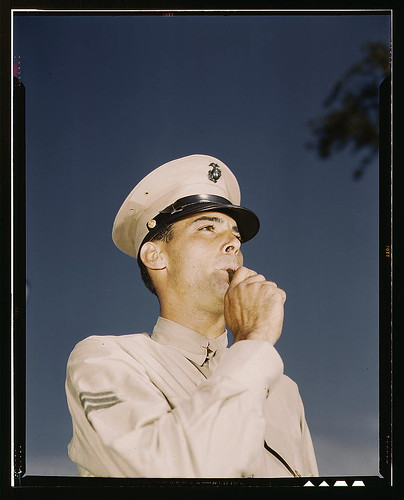 Marine Sgt. at New Orleans, La.  (LOC) | by The Library of Congress
