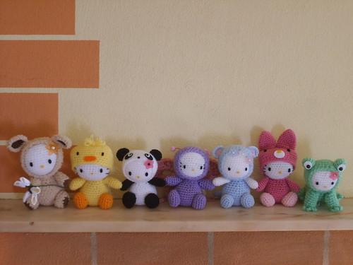 Complete Amigurumi Collection : Amigurumi crochet Hello Kitty collection Sabina Flickr
