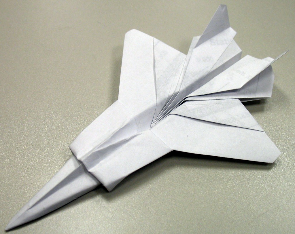 awesome origami jets that fly book flickr
