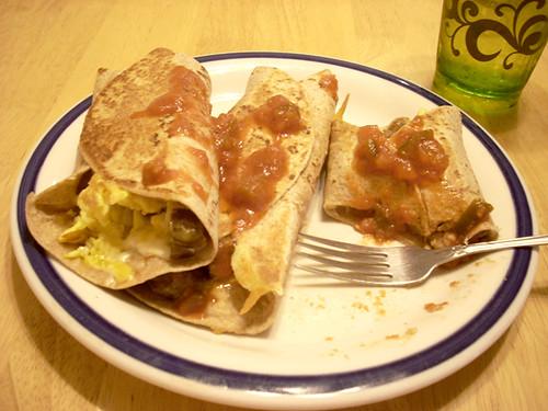 Vegetarian Breakfast Burritos. | Flickr - Photo Sharing!