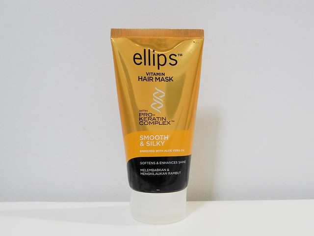 ellips vitamin hair mask smooth and silky