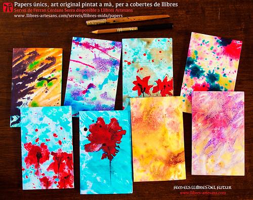 Papers pintats obra original de Ferran Cerdans