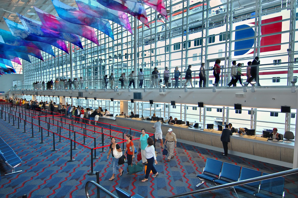 Carnival Terminal Miami Carnival Cruise Lines Flickr