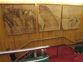 QE2 stairwell tapestry | by Rob Lightbody