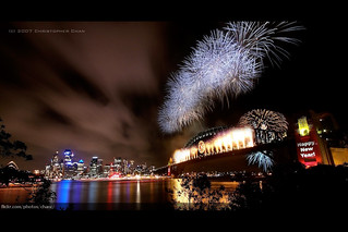 Sydney New Years Eve Fireworks 2007 | by Christopher Chan
