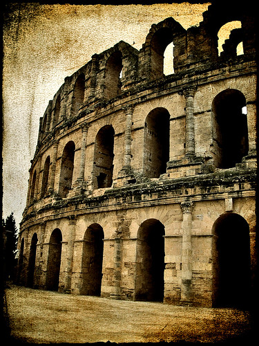 Roman Coliseum in Tunisia.- | by ancama_99(toni)