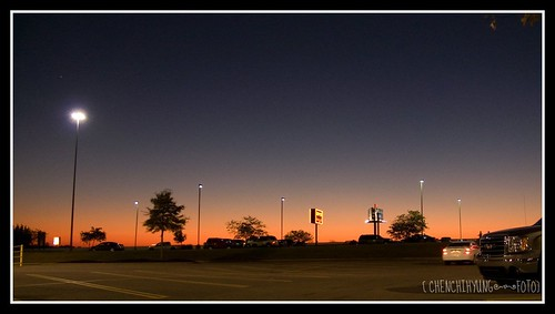 Dusk@Walmart parking lots in Jackson, TN | by CheNcHIHyUNG