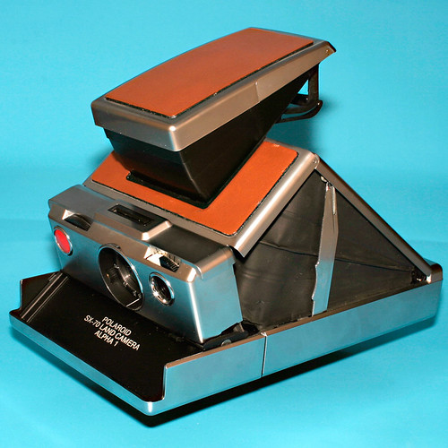 Polaroid SX-70, open, left side | by redframe