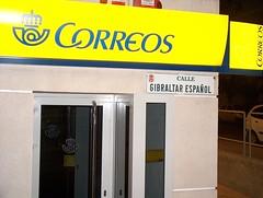 Calle gibraltar espa ol en almer a junto a la oficina for Oficina correos almeria