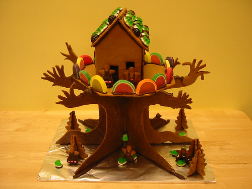 Gingerbread Treehouse | by noricum