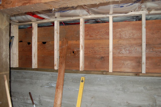 the basement pony wall takes shape by peterbart - Pony Wall