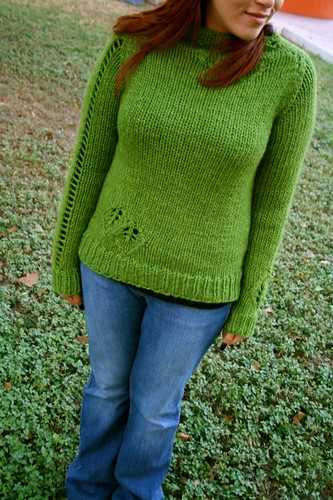 Lace Leaf Pullover | by Chibi Navi