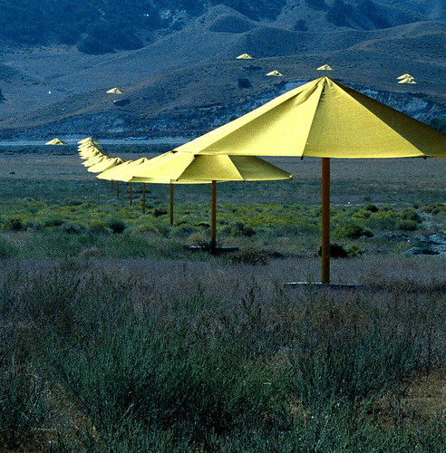 Christo's Umbrellas 1991 | by Jon Delorey