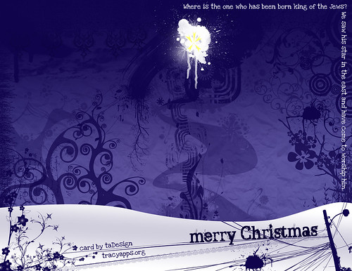 Christmas card 2007 | by tray