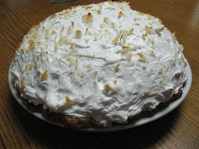 Coconut Meringue Pie | Kimberly Vardeman | Flickr