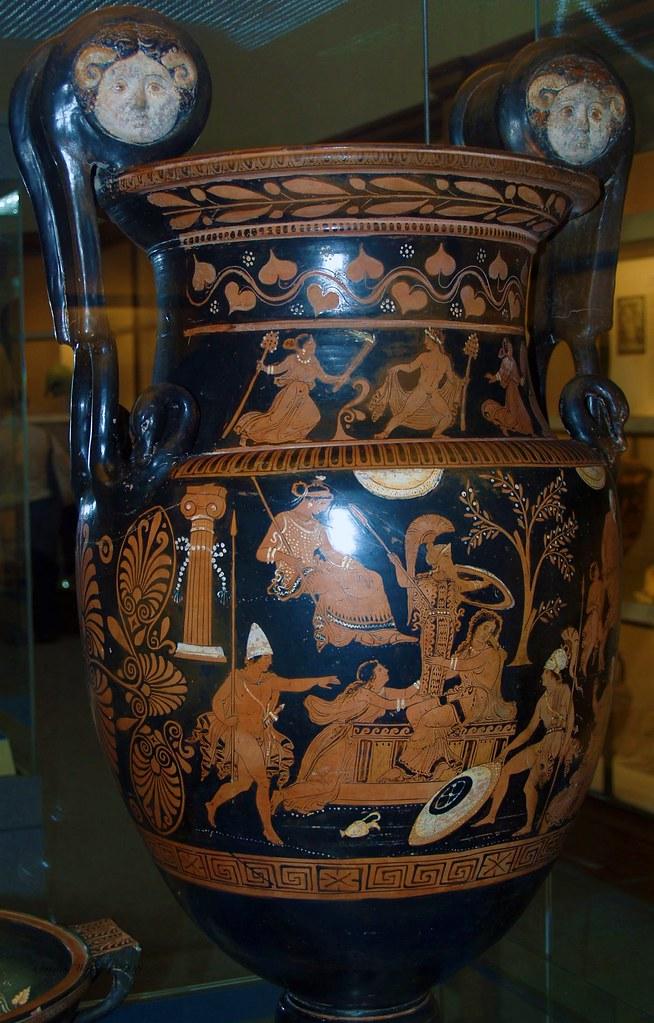 Greek Vase British Museum London England Greek Vase In T Flickr