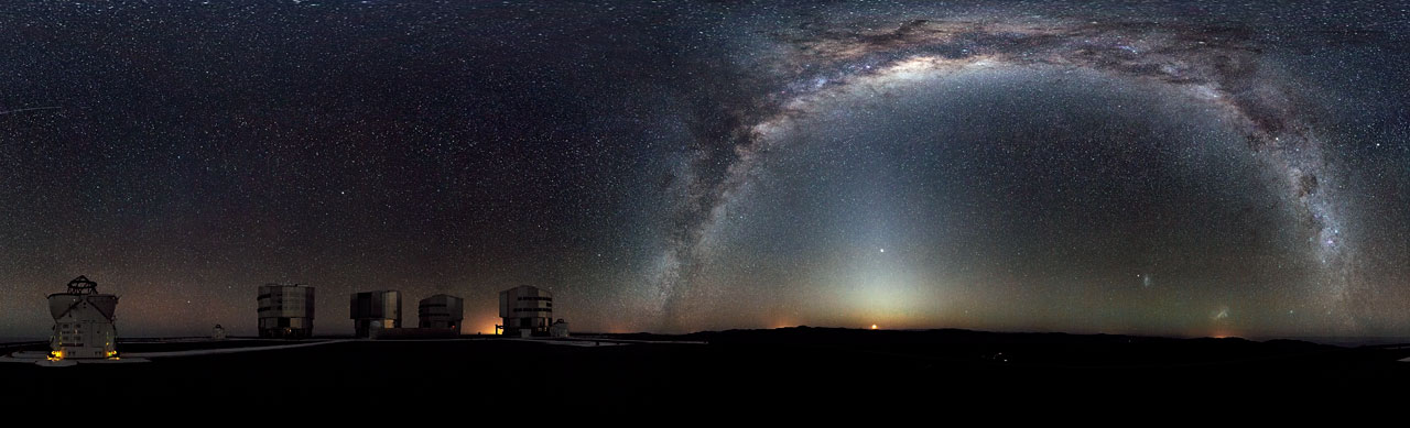 Rare 360-degree panorama of the southern sky*