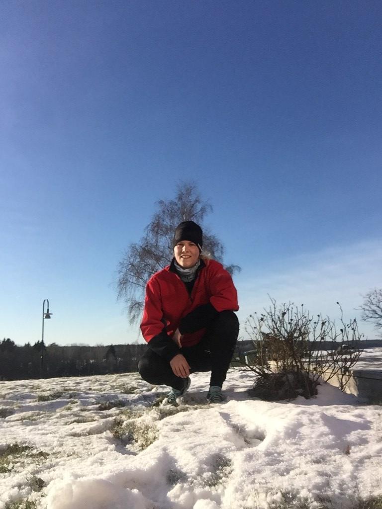 Krispig vinterlöpning - en bra söndag